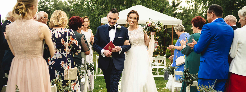 Plenerowy ślub w Villa Omnia