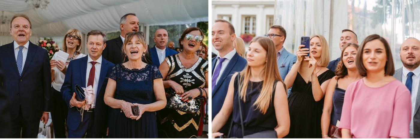 Eleganckie wesele w Pałacu Zegrzyńskim 34