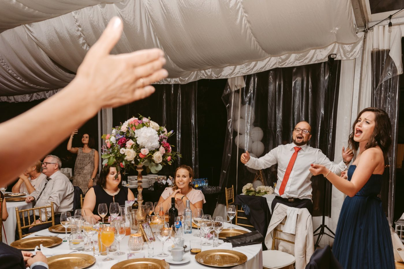 Eleganckie wesele w Pałacu Zegrzyńskim 60