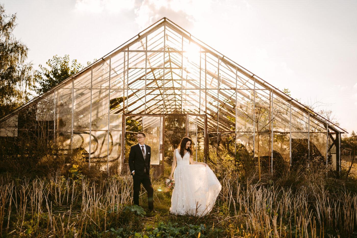 sesja w szklarni, fotograf ślubny kraków, fotografia ślubna kraków, Just Married Fotografia Ślubna